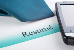 executive search resume